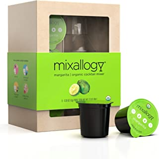 Mixallogy powdered Margarita Cocktail Mix & Mini Shaker Set - 6 Servings