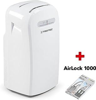 TROTEC Acondicionador de aire local PAC 3500 / Función de temporizador, Salida de aire ajustable, Control remoto IR incluso Airlock 1000