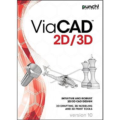 Punch! ViaCAD 2D/3D v10 for Windows PC [Download]