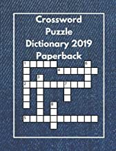 Crossword Puzzle Dictionary 2019 Paperback: Easy Crossword Puzzles For Teens , Word Crossy Crossword Game