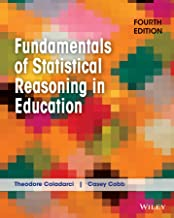 Best fundamentals of statistical reasoning in education Reviews