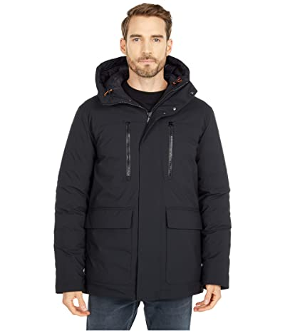 Save the Duck Smeg Hooded Lightweight Parka (Black) Men