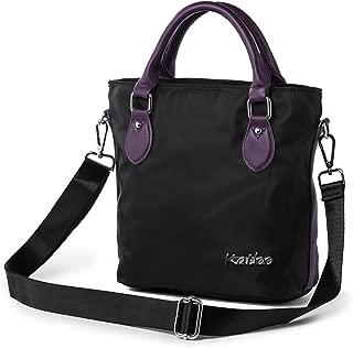 Top Handle Bag Small Nylon Handbags for Women Crossbody Tote Bags Handbag Purses Lightweight Water Resistant Katloo