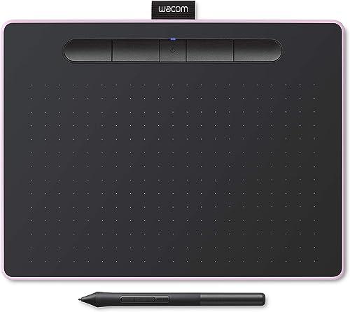 Tablet Wacom Intuos M con Bluetooth, tableta gráfica inalámbrica para pintar, esbozar y retocar fotografías con 5 ver...