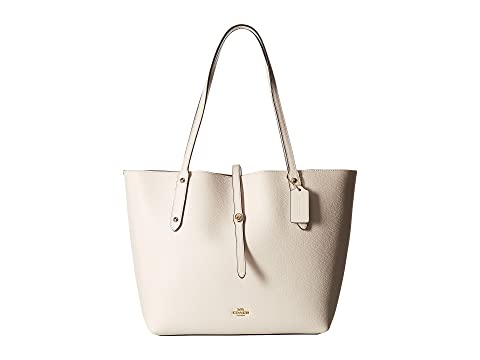 Pulido Chalk COACH Pebbled Leather Market LI Tote HxxZ1dOqw