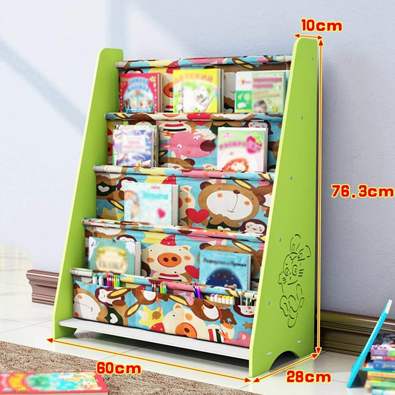 Chunlan bookshelf Bookshelf in Three colors Available 60  28  76.3cm (color   Green 60  28  76.3cm)