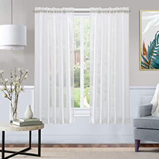 Best linen cafe curtains Reviews