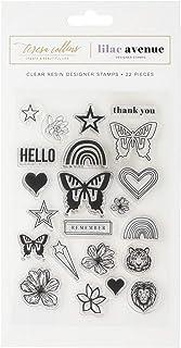 Teresa Collins Clear Stamp Set