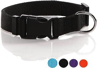 SALO Nylon Dog Collar 1 inch Wide, Dog Collars for Medium Large Dogs