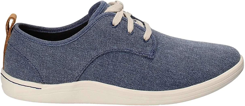 Clarks Schuhe für Herren 26132276 Mapped Mapped Mapped Blau Fabric SchuhGröße 45 8e4
