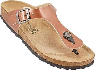 012-280 Biochic Ladies Sandals Patent Leather Neutral