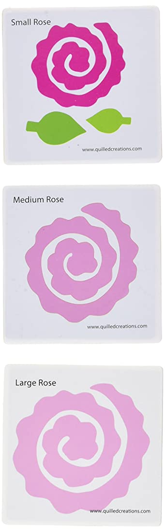 Quilled Creations Blooming Roses Quilling Die