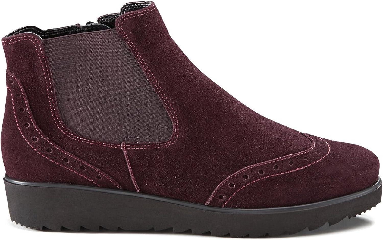 Avena Damen Damen Federleicht-Chelsea-Stiefel Rot GR.40  Sparen Sie bis zu 30-50%