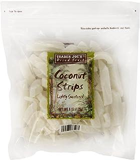 Trader Joe's Coconut Strips, 6 oz (Pack of 2)