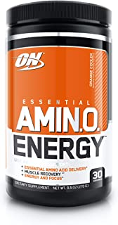 Sponsored Ad - Optimum Nutrition Amino Energy - Pre Workout with Green Tea, BCAA, Amino Acids, Keto Friendly, Green Coffee...