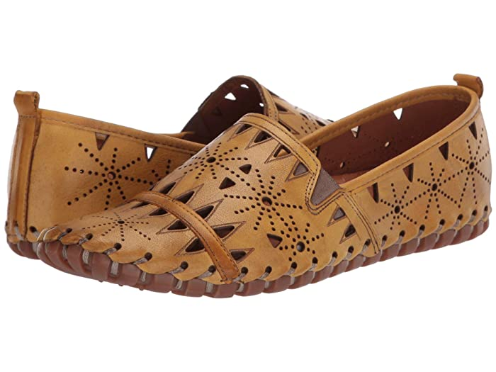 Spring Step  Fusaro (Yellow) Womens Shoes