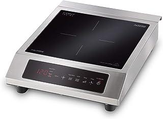 CASO ProChef 3500 Plaque de cuisson à induction mobile, puissante 3500 W, 60-240 °C, mode maintien au chaud, minuterie 24 ...