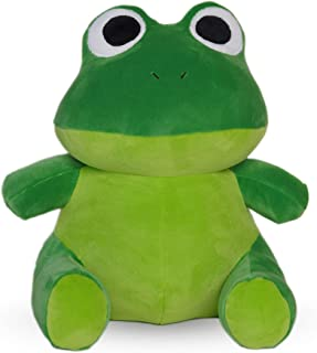 Avocatt Green Frog Plush Toy - 10 Inches Stuffed Animal Plushie - Hug and Cuddle with Squishy Soft Fabric and Stuffing - C...