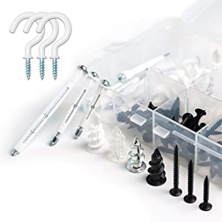 MYTOW Self Drilling & Self Tapping Screws Assortment Kit Set Screws Available for Multi-use for Wood Screws, Sheet Metal S...