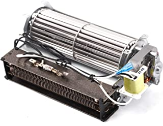 BBQ-Element Replacement Fireplace Fan Blower with Heating Element for Twin Star Electric Fireplace and Other Wood/Gas Burning Stove or Fireplace