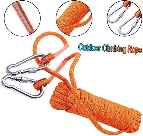 10mm Escalada Cuerda De Escape Cuerda Cuerda Auxiliar Fuego ...