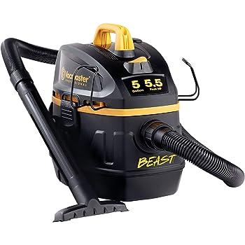 "Vacmaster Professional - Professional Wet/Dry Vac, 5 Gallon, Beast Series, 5.5 HP 1-7/8"" Hose Jobsite Vac (VFB511B0201), Black"
