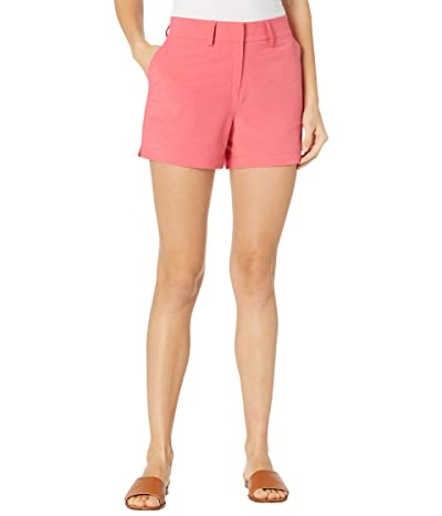 Southern Tide 4 Inlet Heather Performance Shorts (Heather Calypso Coral) Women