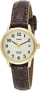 Timex Women's Easy Reader 25mm Leather Strap Watch T20071