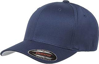 قبعة Flexfit للجنسين من الصوف والممشط من نسيج قطني مضلع - 6277