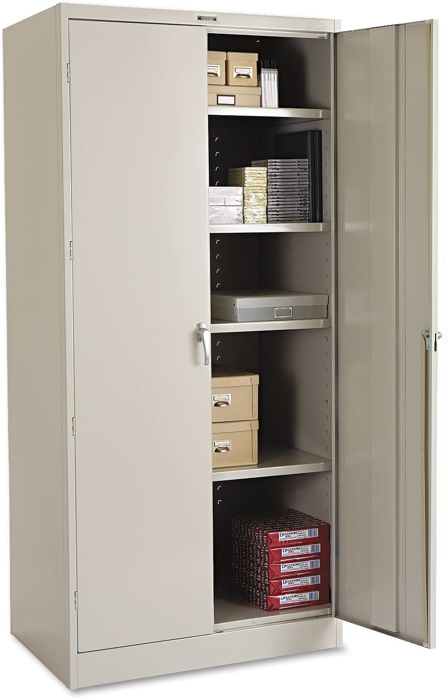 Tennsco 2470LGY 78-Inch Chicago Mall High Price reduction Deluxe Cabinet 24d Li 78h x 36w