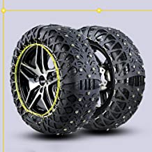 Car Tire Anti Skid Chain Snow Chains Easy to Mount Tire Snow Chain for Any Tire (Size : 20555R16)