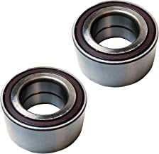 Detroit Axle - Pair (2) Front Wheel Bearing Assembly for Audi VW Land Rover Q7 Range Rover Touareg - 510082