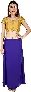 Sari Petticoat Stitched Indian Saree Petticoat Adjustable Waist Sari Skirt