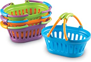 Learning Resources LER9724-4 New Sprouts Stack of Baskets (Set of 4) 7 L x 4-1/2 W in