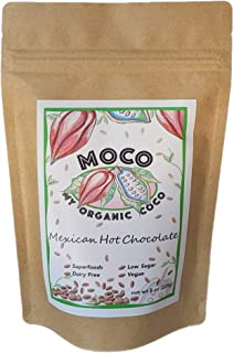 MOCO - My Organic Coco – Gourmet Mexican Hot Chocolate Mix – Vegan & Gluten Free - 8 oz