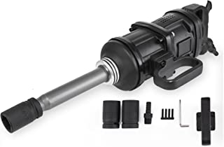 Mophorn 1 Inch Heavy Duty Pneumatic Impact Wrench 5800 Nm(4280ft.lbs) AIR Impact Wrench with 8Inch Extended Anvil Impact Wrench Gun