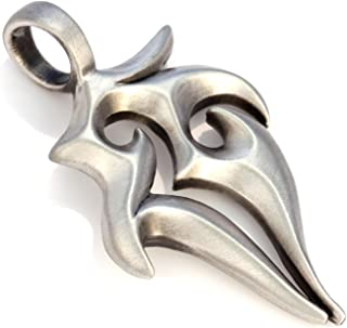 Bico The Stag Pendant (E4) - Strength and Male Sexuality - Satin Silver Finished Signature Design