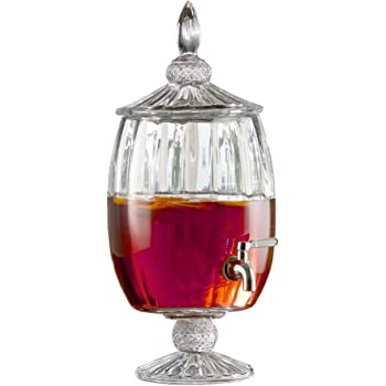 255-Oz Fifth Avenue Crystal Provence Beverage Dispenser Jay Imports 210964-GB