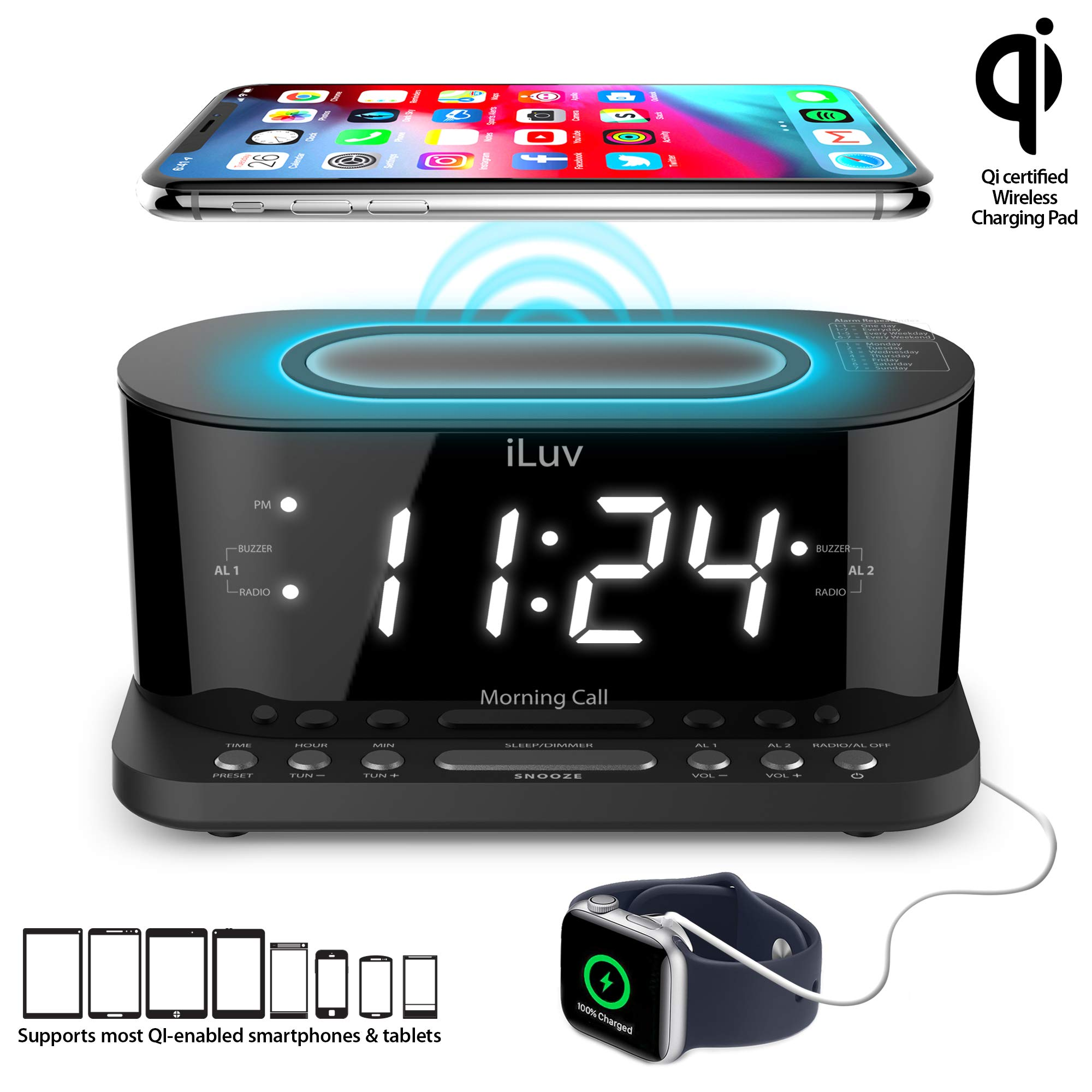 iLuv Wireless Charging Certified 100 240V