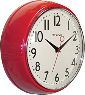 Best red retro clock Reviews