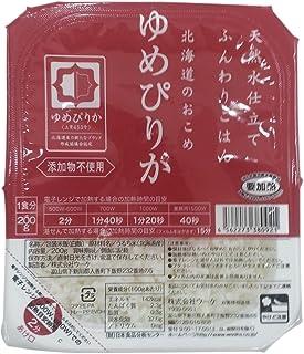 ウーケ ふんわりごはん 北海道産ゆめぴりか (200g×3P)×8個