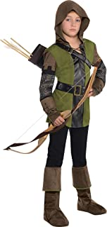 amscan Boys Prince of Thieves Robin Hood Costume - Large (12-14), Multicolor