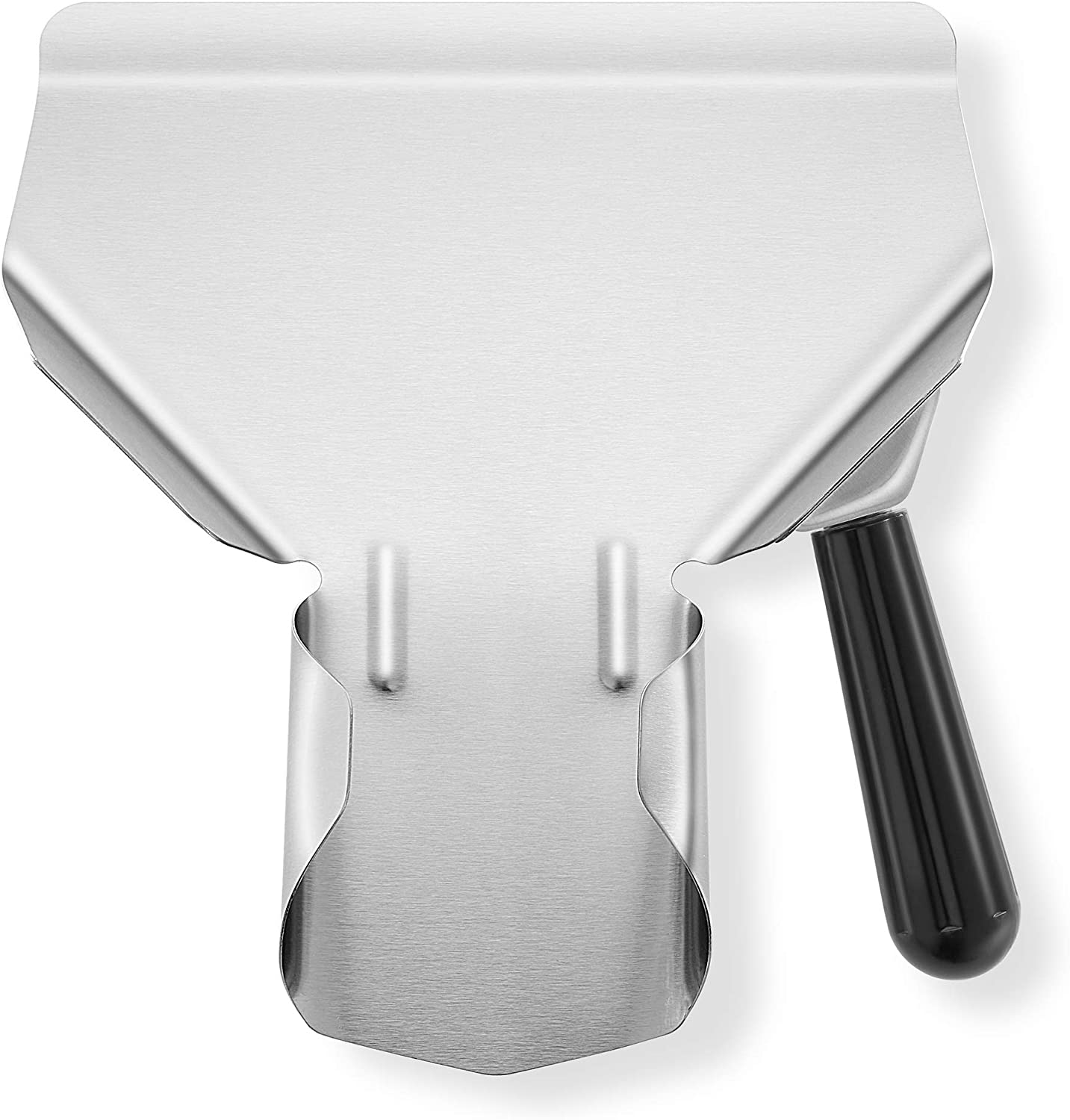 Olde Midway Stainless Steel High quality French Fry Austin Mall Right with Scoop - Handle