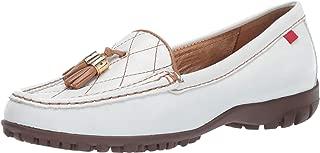 MARC JOSEPH NEW YORK Women's Golf Leather Made in Brazil Wall Street Fashion Shoe Moccasin