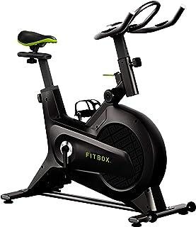 【FITBOX 第3世代フィットネスバイク 極静音】 スピンバイク メーカー1年保証 エクササイズセンサー付き 組立簡単 トレーニング トレーニングバイク ダイエット器具
