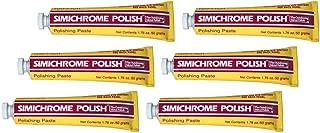 6 Pack Simichrome Polish 1.76 oz Happich Metal Polishing Paste 390050 Bakelite Test