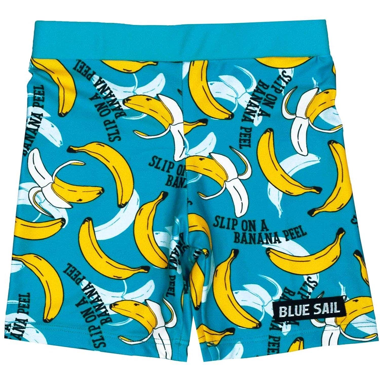 アスナロ(水着) スイムパンツ 男の子 キッズ バナナプリント 水着 インナーパンツ付