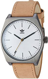 adidas Watches Process_L1. Genuine Leather Strap, 20mm Width (38 mm).