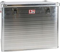 JUMBO Alluminium transportbox aluminium 240 liter ALU240 L 750 x B 585 x H 622 mm kist opbergbox aluminium box