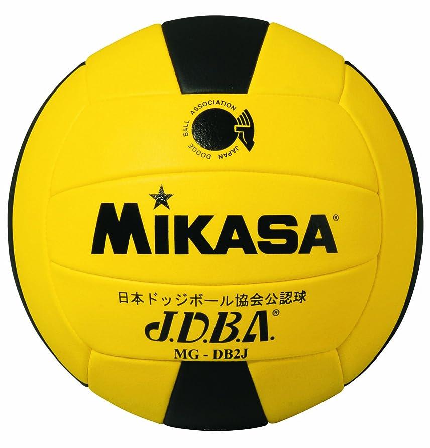 シャーロックホームズ国民従順なミカサ ドッジボール 公認球 2号 低学年用公認球 小学校用 MGDB2J Y/BK